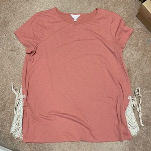 LC by Lauren Conrad maternity top size XL